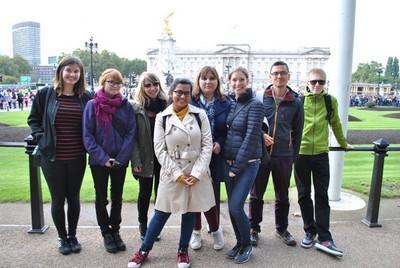 Zuzka na výletě v Londýně