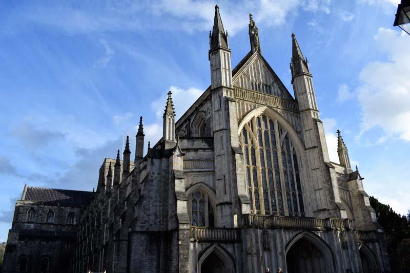Winchester katedrála