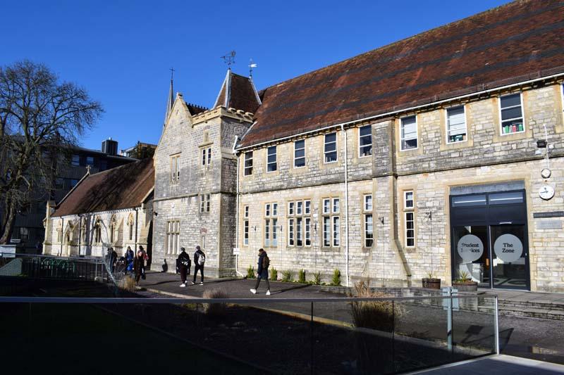 Winchester university budova školy