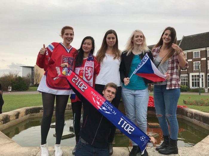 International Day s českými studenty