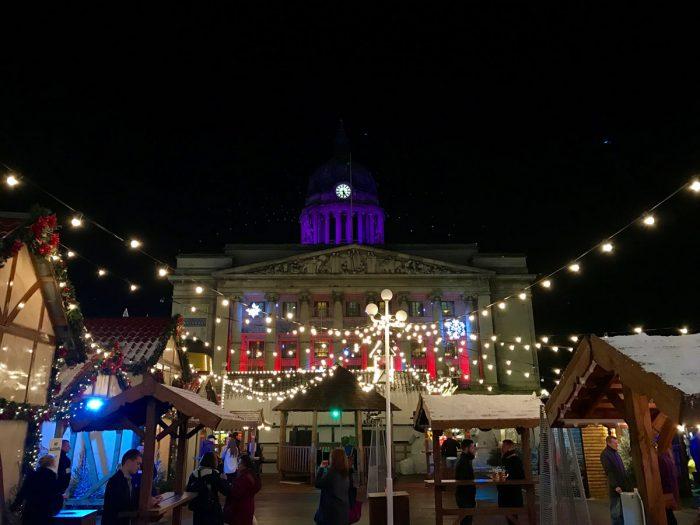 Vánoční trhy v Nottinghamu