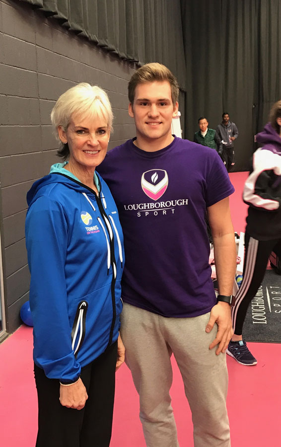 Workshop s Judy Murray