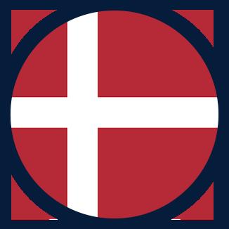Studuj v Dánsku - vlajka Dánska