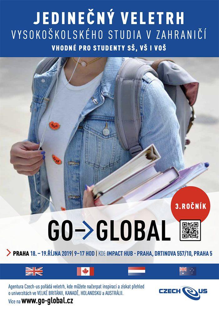plakát veletrhu Go-Global